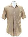 Mens Solid Disco Shirt