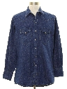 Mens Denim Western Shirt