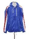 Mens Designer Wet Look Windbreaker Jacket