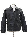 Mens Mod Leather Motorcycle Jacket