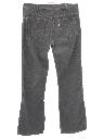 Mens Corduroy Bellbottom Jeans Cut Pants