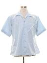 Mens Mod Knit Sport Shirt