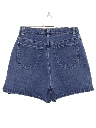 Womens High Waisted Denim Jeans Shorts