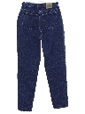 Womens Straight Leg High Waisted Denim Jeans Pants