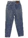 Womens Highwaisted Straight Leg Totally 80s Denim Jeans Pants