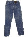 Womens Highwaisted Denim Jeans Pants