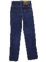 Womens Straight Leg Denim Jeans Pants
