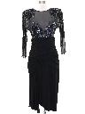 Womens Designer Cocktail Dress