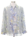 Mens Wicked 90s Graphic Print Sport Shirt