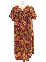 Womens Hippie Lounge Dress