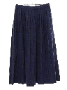 Womens Totally 80s Wool Skirt