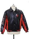 Mens NBA Carl Banks Glll Leather Jacket