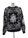 Mens Totally 80s Graphic Ski Sweater