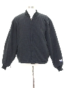 Mens Gas Station Style Zip Jacket