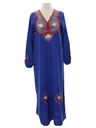 Womens Maxi Hippie Caftan Dress