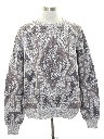 Mens Totally 80s Style Cosby Sweater