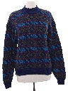 Womens Totally 80s Cosby Style Sweater