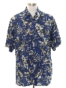Mens Rayon Hawaiian Shirt