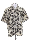Mens Hawaiian Style Sport Shirt