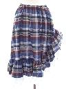 Womens Plaid Skirt