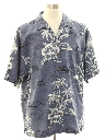 Mens Tommy Bahama Silk Hawaiian Shirt