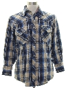 Mens Western Flannel Shirt Jacket