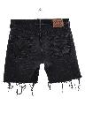 Mens Levis 501s Denim Jeans Cut Off Shorts