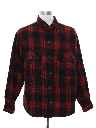 Mens Lumberjack Plaid Flannel Shirt