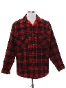 Mens Lumberjack Plaid CPO Shirt Jacket
