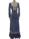 Womens Gunne Sax Style Hippie Prairie Dress