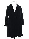 Womens Velveteen Evening Duster Coat Jacket