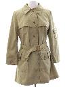 Womens Mod Overcoat Jacket