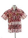 Mens Hawaiian Print Shirt