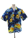 Mens Totally 80s Hawaiian Surf Shirt