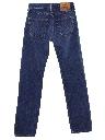 Unisex Levis 501xx Straight Leg Denim Jeans Pants