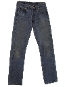 Womens Levis 501 Straight Leg Denim Jeans Pants