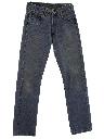Womens Levis 501 Straight Leg Denim Jeans Pants