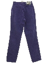 Womens Highwaisted Western Jeans Pants