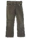 Unisex Corduroy Jeans Cut Pants