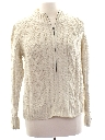 Womens Cable Knit Sweater Jacket