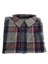 Mens Preppy Plaid Shirt