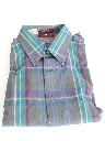 Mens Totally 80s Preppy Sport Shirt