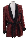 Mens Hugh Hefner Playboy Style Evening Smoking Jacket