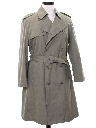 Mens Inspector Clouseau Style Overcoat Trench Jacket