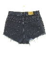 Womens Totally 80s High Waisted Denim Cut off Shorts