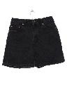 Womens High Waisted Denim Mom Shorts
