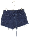 Womens Denim Cut Off Shorts