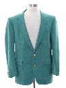 Mens Totally 80s Preppy Blazer Sport Coat Jacket