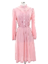 Womens Prairie Style Secretary Dress