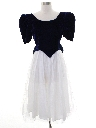 Womens Snow White Style Totally 80s Prom Or Cocktail Dress